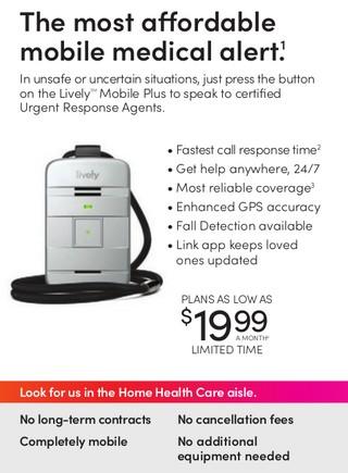 The most affordable mobile medical alert