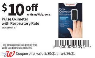 Pulse Oximeter with Repiratory Rate Walgreens