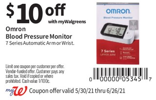 Omron Blood Pressure Monitor 7 Series Blutooth Arm or Wrist