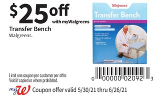Transfer Bench Walgreens