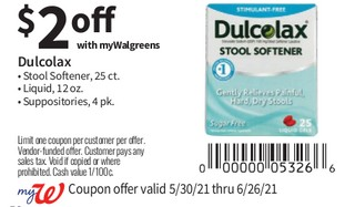 Dulcolax Stool Softener, 25 ct