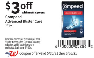 Compeed Advanced Blister Care 12 pk
