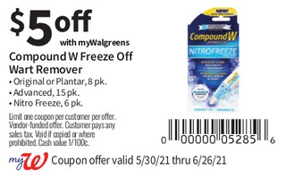 Compound W Freeze Off Walt Remover