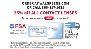 Order at Walgreens