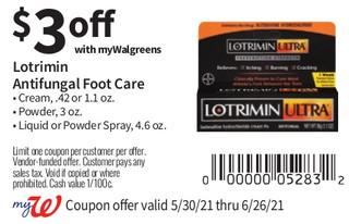 Lotrimin Antifungal Foot Care