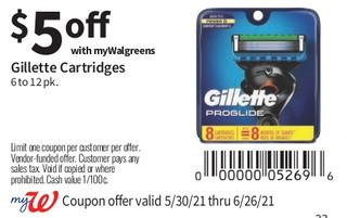 Gillette Cartridges