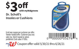 Dr. Scholl's INsoles or Cushions