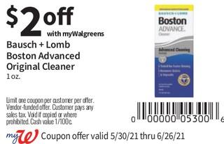 Bausch + Lomb Boston Simplus Advanced Original Cleaner 1 oz