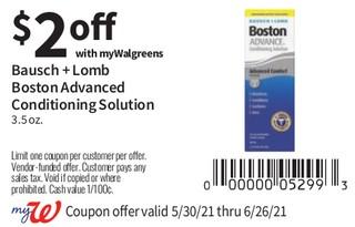 Bausch + Lomb Boston Simplus Advanced Conditioning Solution 3.5 oz