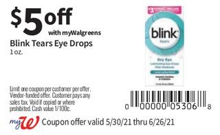 Blink Tears Eye Drops 1 oz