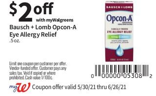 Bausch + Lomb Opcon - A Eye Allergy Relief .5 oz