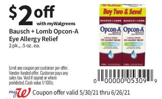 Bausch + Lomb Opcon - A Eye Allergy Relief