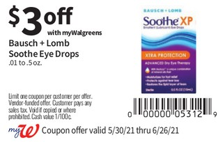 Bausch + Lomb Soothe Eye Drops
