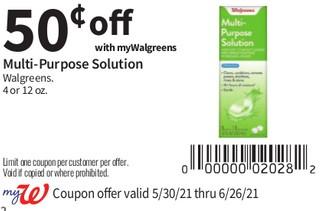Multi-Purpose Solution Walgreens