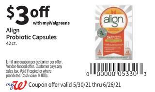 Align Probiotic Capsules 42 ct