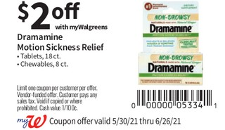 Dramamine Motion Sickness Relief