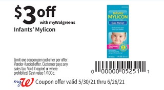 Infants Mylicon