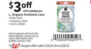 L. Organic Femenine Care