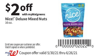 NIce! Deluxe Mixed Nuts 16 oz