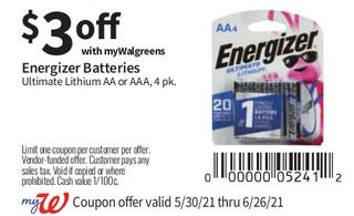 Energizer Baterias