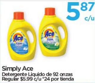 Simply Ace Detergente Líquido