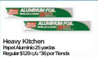 Heavy Kitchen Papel Aluminio