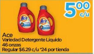 Ace Variedad Detergente Líquido