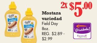 Mostaza Variedad Field Day 8 oz