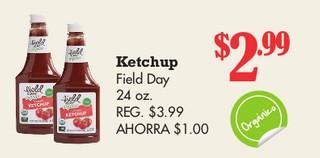 Ketchup Field Day 24 oz