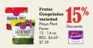 Frutas Congeladas Variedad Pitaya Plant Power 14 - 14 oz