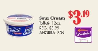 Sour Cream Toffuti - 12 oz