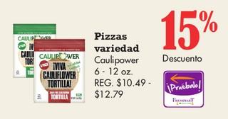 Pizzas Variedad Caulipower 6 - 12 oz