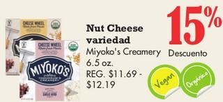 Nut Cheese Variedad