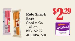 Keto Snack Bars