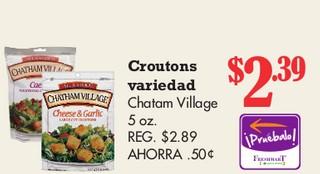 Croutons Variedad