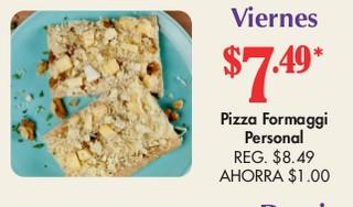 Pizza Formaggi Personal