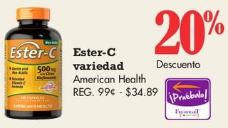 Ester-C Variedad