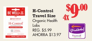 H-Control Travel Size
