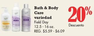 Bath & Body Care Variedad