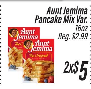 Aunt Jermina Pancake Mix Var. 16 oz