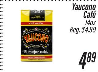 Yaucono Cafe 14 oz