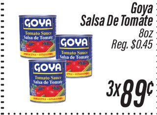 Goya Salsa de Tomate 8 oz