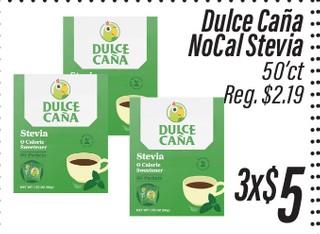 Dulce Caña NoCal Stevia 50'ct