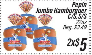 Pepín Jumbo Hamburguer