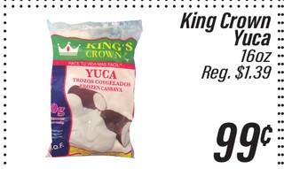 King Crown Yuca