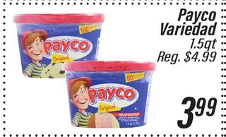 Payco variedad