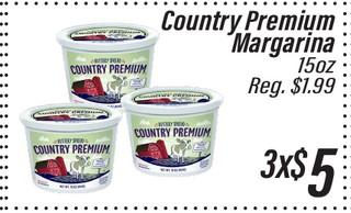 Country Premium Margarina