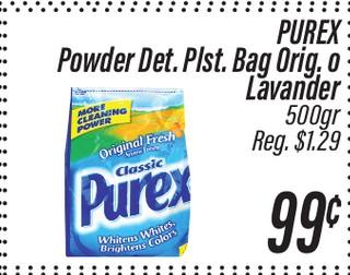 Purex Powder Detergente