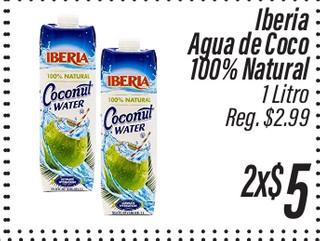 Iberia Agua de coco natural