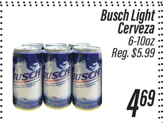 Cerveza Bush Light